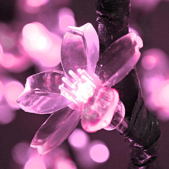 светодиодное дерево сакура цвет розовый купить