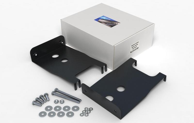 Комплект: защита картера и крепеж Novline-Autofamily KIA Optima 2012: 2,0 бензин АКПП - фото 3