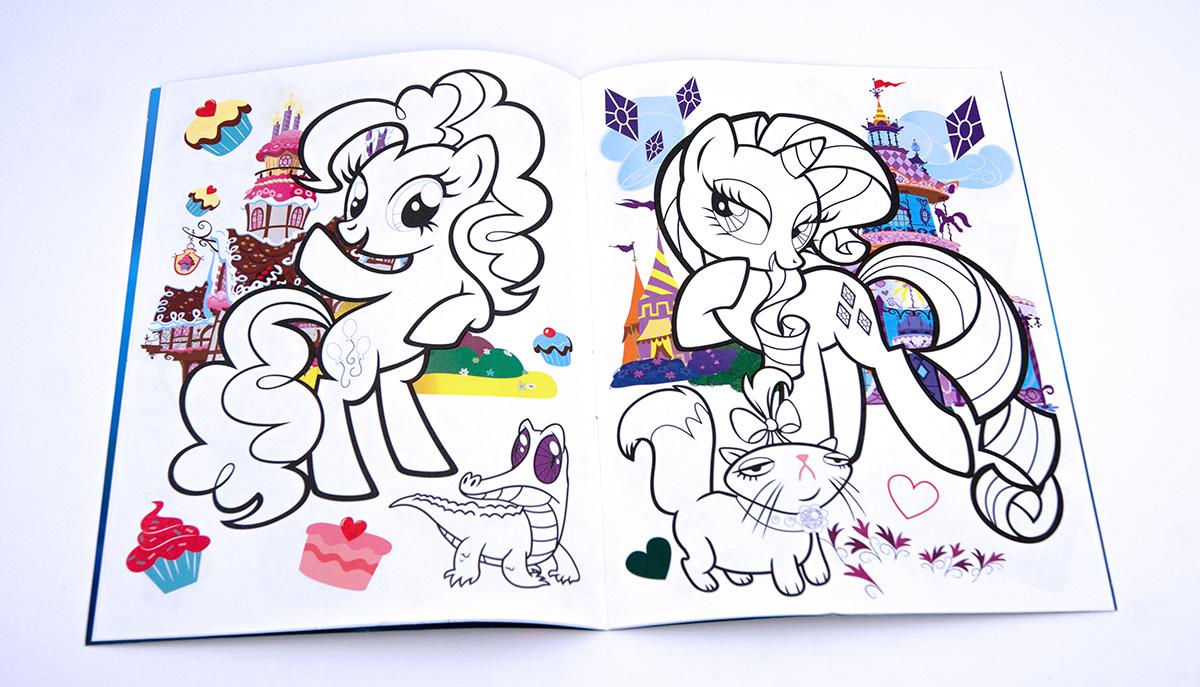 Мои маленькие пони игры и раскраски