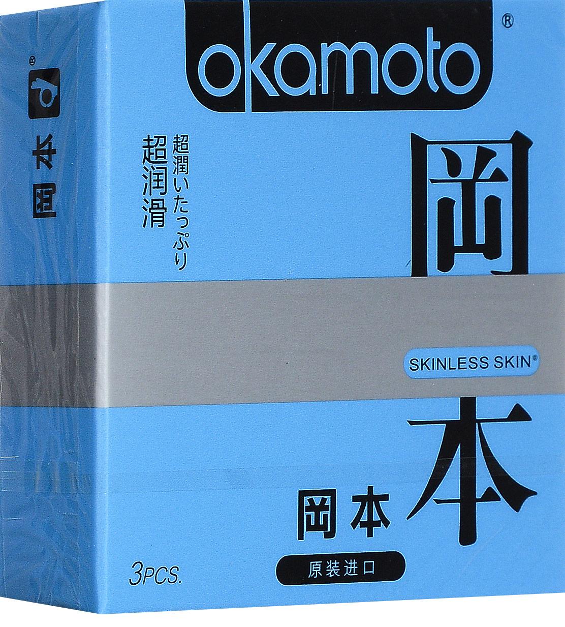 Ультратонкие презервативы Okamoto Crown классические – 3 шт